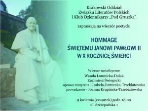 HOMMAGE - zaproszenie