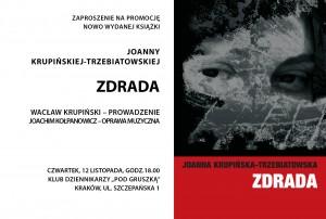 ZDRADA - zaproszenie