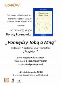 Dorota Lorenowicz - zaproszenie