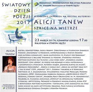 Alicja Tanew, Stary Sącz