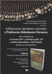 Jubileuszowe Spotkania Autorskie z Prof_Strona_3