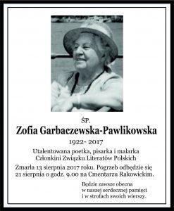 Garbaczewska-Pawlikowska